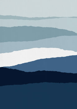 Valokuvatapetti Blue Abstract II