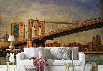Valokuvatapetti Brooklyn Bridge