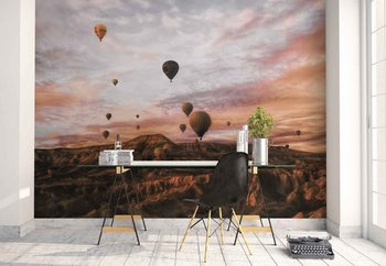 Valokuvatapetti Cappodocia Hot Air Balloon