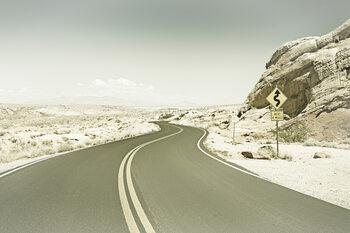 Valokuvatapetti Country Road USA | Vintage