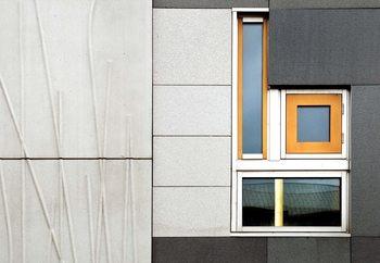 Valokuvatapetti Facade Geometry