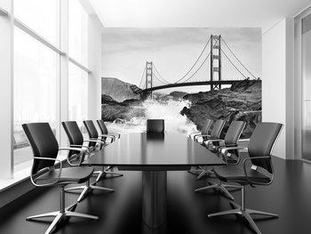 Valokuvatapetti Golden Gate Bridge – Rock