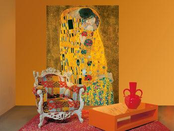 Valokuvatapetti Gustav Klimt - Suudelma, 1907-1908
