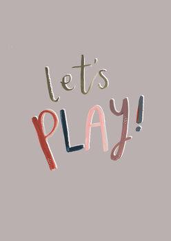 Valokuvatapetti Let's play
