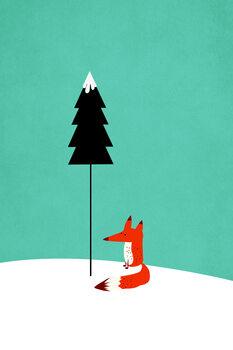 Valokuvatapetti Little Mister Fox