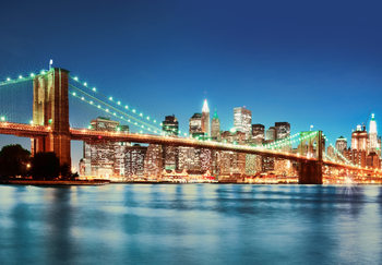 Valokuvatapetti NEW YORK EAST RIVER