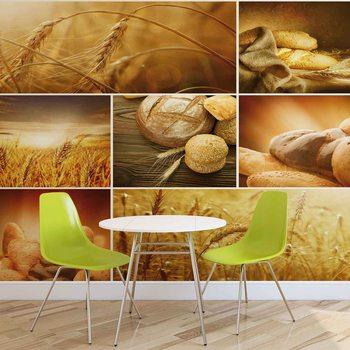 Valokuvatapetti Pan de Alimentos