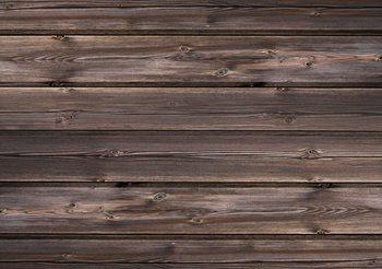 Valokuvatapetti Pattern Brown Wood