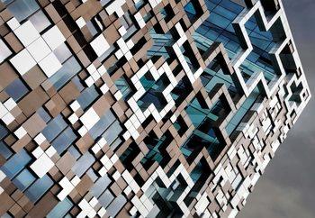 Valokuvatapetti Puzzle Facade