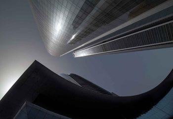 Valokuvatapetti The Rhythm Of Glass And Concrete