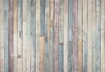 Valokuvatapetti Wooden Wall