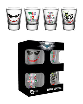Batman The Dark Knight: Le Chevalier noir - Joker  Verre