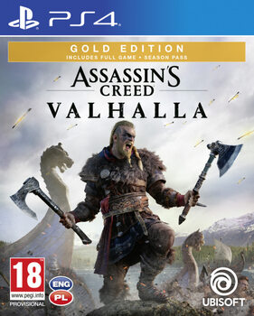 Videogame Assassin's Creed Valhalla Gold Edition (PS4)