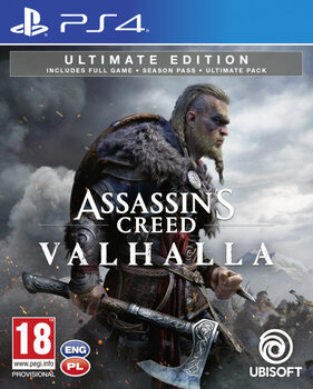 Videopeli Assassin's Creed Valhalla Ultimate Edition (PS4)