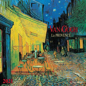 Calendar 2021 Vincent van Gogh - Colours of the Provence
