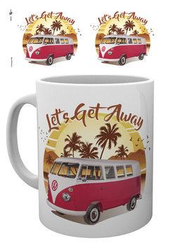 Cup VW Camper - Lets Get Away Sunset