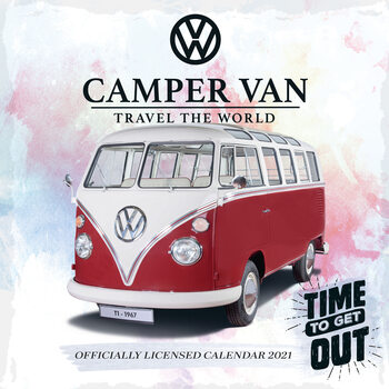 Calendar 2021 VW Camper Vans