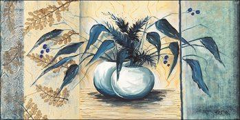 Blue sheets Art Print