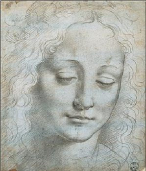Head of a Woman Art Print