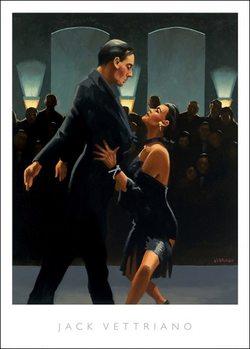 Jack Vettriano - Rumba In Black Art Print