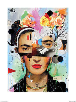 Loui Jover - Kahlo Anaylitica Art Print