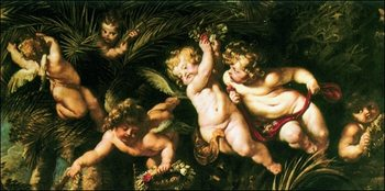 Peter Paul Rubens - SS Domitilla, Nereo e Achilleo Art Print