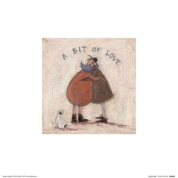Sam Toft - A Bit of Love Art Print