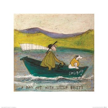 Sam Toft - A Day Out With Little Betty Art Print