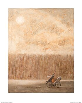 Sam Toft - A Lovely Night for a Drive Art Print