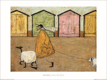 Sam Toft - Along the Prom Art Print