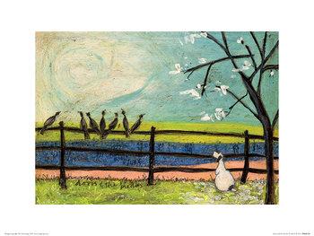 Sam Toft - Doris and the Birdies Art Print