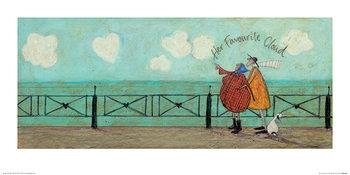 Sam Toft - Her Favourite Cloud II Art Print