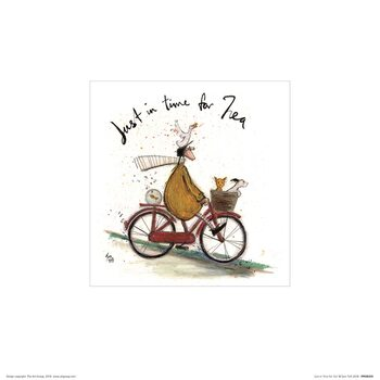 Sam Toft - Just in Time for Tea Art Print