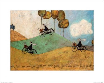 Sam Toft - Just One More Hill Art Print