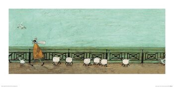 Sam Toft - Moses Follows That Picnic Basket Art Print