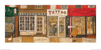 Sam Toft - On a Street Where You Live Art Print