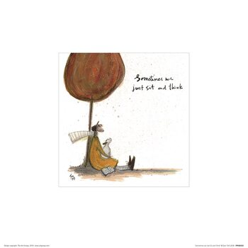 Sam Toft - Sometimes We Just Sit and Think Art Print