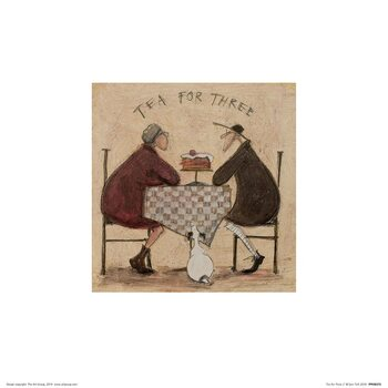 Sam Toft - Tea for Three II Art Print