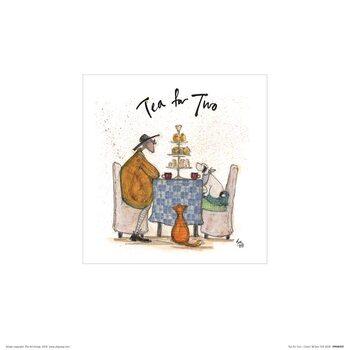 Sam Toft - Tea for Two Art Print