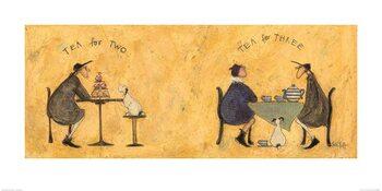 Sam Toft - Tea for Two Tea for Three Art Print