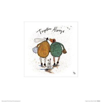 Sam Toft - Together Always Art Print
