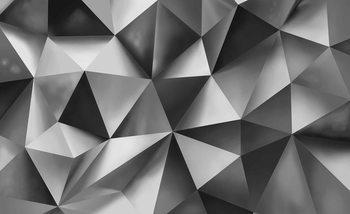 Abstract Art Grey Poster Mural