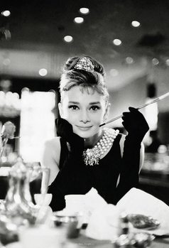 Audrey Hepburn - Breakfast at Tiffany's Poster mural
