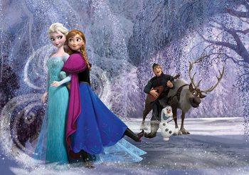 Disney Frozen Elsa Anna Poster Mural