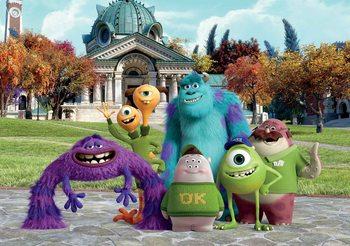Disney Monsters Inc Poster Mural