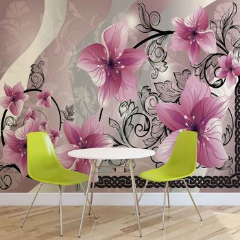 Flowers Floral Pattern Poster Mural