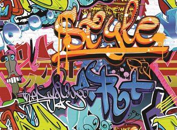 Graffiti Poster Mural