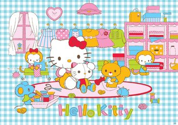 Hello Kitty Poster Mural