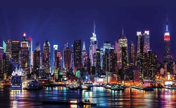 La ville de New York Poster Mural