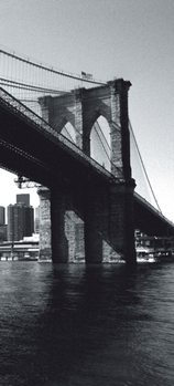 New York - Brooklyn Bridge Poster Mural